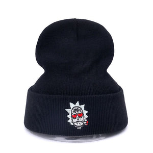 ce970719e282f High Quality Rick and Morty Hats The New US Animation Cot Winter Hat For Men  And