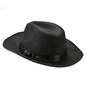Hot Cowboy Hats Vintage Popular Fashion 100% Pure Woolen Unisex Autumn/Winter Fedoras hat Jazz Cap Sun Hats For women And Men 38