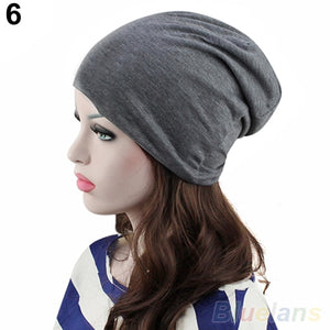 Hot Fashion Women's Men's Winter Slouch Crochet Knit Hip-Hop Beanie Hat Cap 22B3