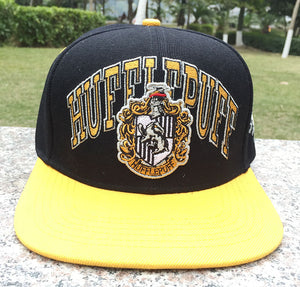 Hot Moive Hufflepuff Scho Baseball Hat Adult Boys Girls Men Women Hip Hop Adjustable Cotton Snapback Caps Cosplay Accessories