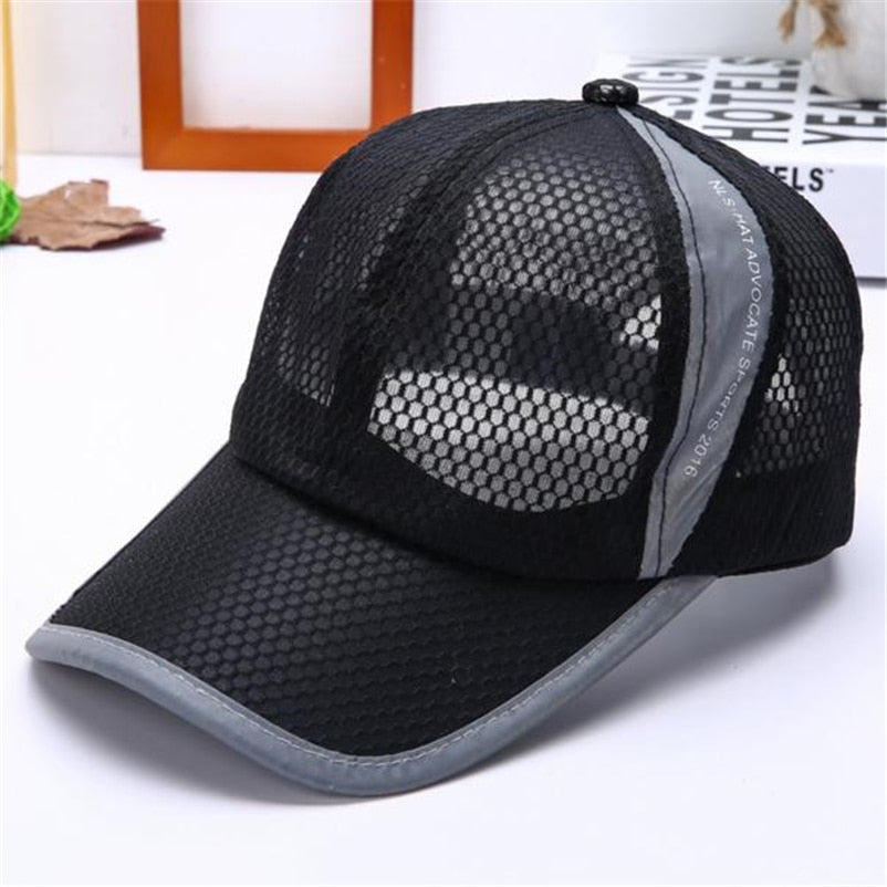 Hot Sale Unisex Summer Breathable baseball Cap Hat For Women Men Mesh Cap Snapback Hat Golf Cap Men Sport Brand Hat Golf Cap Men