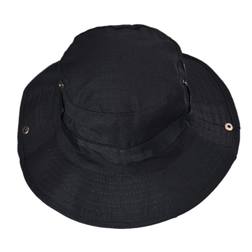 5a50d965ca384 Hot Selling Bucket Hat Unisex Boonie Hunting Fishing Outdoor Wide ...