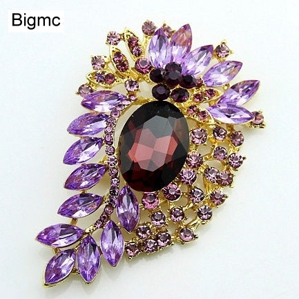 Hot - selling glass resin Xionghua novelty unique brooch clothing hat accessories H1161