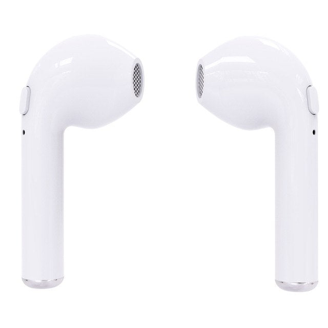 I7s TWS Twins Mini Wireless Bluetooth Earphones In-Ear Music Earbuds Stereo Headset with Mic For Apple iPhone Andriod smartphone
