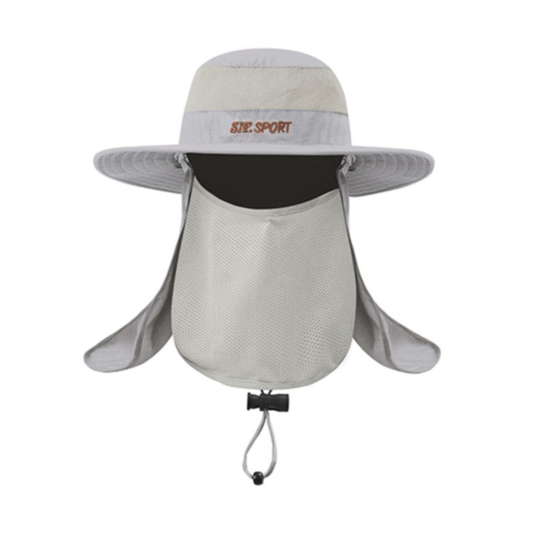 Unisex Sport Bucket Hat Waterproof Outdoor Fishing Cap Hunting Hat ... cf0d5dc12fc