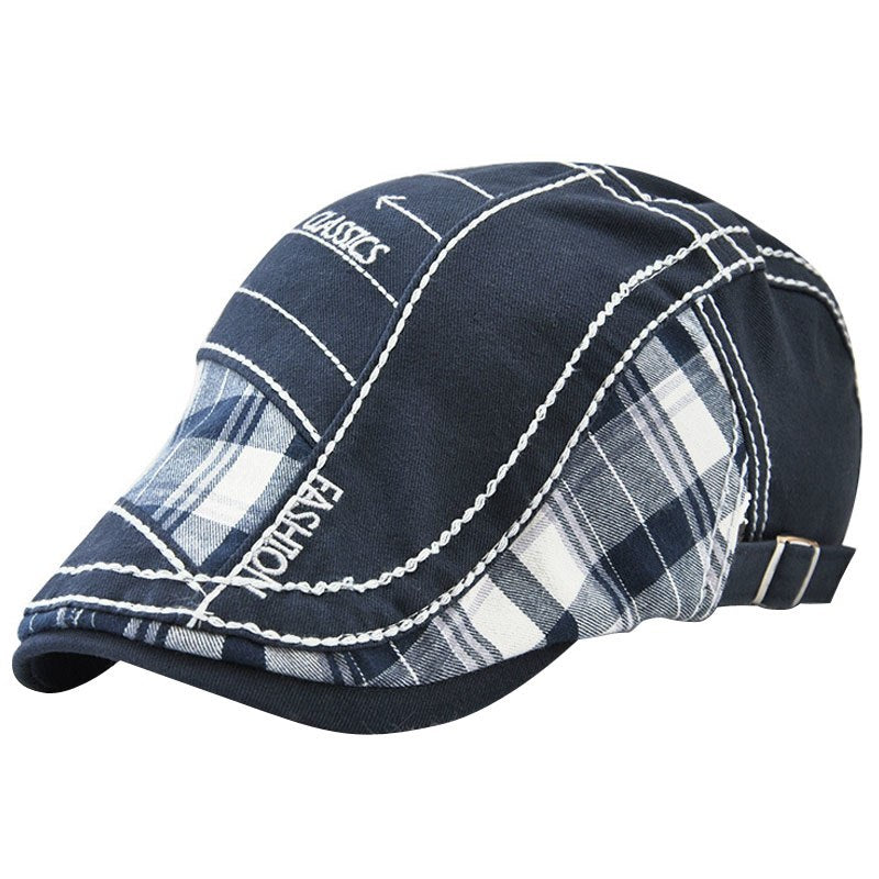 9b2e92d3d5c Adjustable Beret Caps Spring Summer Outdoor Sun Breathable Bone Brim ...