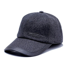 Load image into Gallery viewer, Autumn Winter Baseball Cap 2020 Fashion Hats For Men Grey Blue Black Brown Hat Women Adjustable Caps Female