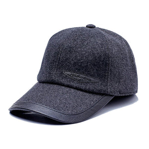 Autumn Winter Baseball Cap 2020 Fashion Hats For Men Grey Blue Black Brown Hat Women Adjustable Caps Female