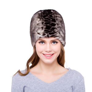hot winter imported real whole mink fur cap women fashion caps High Quality hat kit Cheap Female warm hat 2020 new DHY18-01