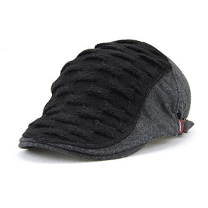 74ada6f2cf9b0 Men Women Woven Knitted Wo Newsboy Ivy Caps Winter Warm Vintage Beret Hats  British Gentleman Boina Duckbill Peaked Caps
