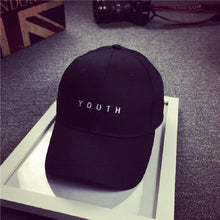 Load image into Gallery viewer, June 6 Fairy Store Embroidery Cotton Baseball Cap Boys Girls Snapback Hip Hop Flat Hat