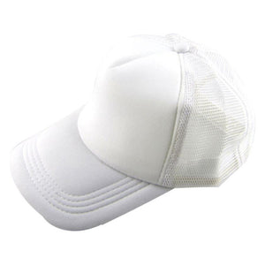 June 6 Fairy Store Unisex Casual Hat Solid Baseball Cap Trucker Mesh Blank Visor Hat Adjustable