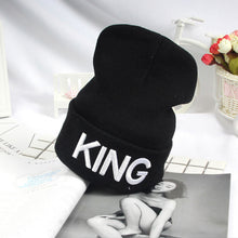 Load image into Gallery viewer, KING QUEEN Winter Warm Skullies Beanies Knit Hat Skullies Bonnet Hats For Men Women Beanie Ski Sports Embroidery Cap 15