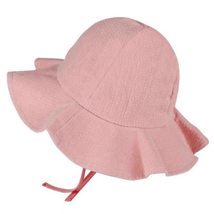 2018 Wide Brim Baby Sun Hat Cotton Kids Bucket Cap Summer Beach Girls Travel Outdoor