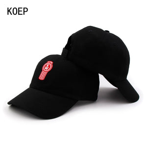bd4c9230 100% Cot Thin Breathable Baseball Caps Letters Small Embroidery High  Quality Cap Men Women Hat Black Casquette Dad Hats