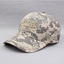 Load image into Gallery viewer, Army Camouflage Baseball Cap 511 Tactical Caps Outdoor Breathable Sunshade Mountaineering Casual Hat Summer 2018 New Hats