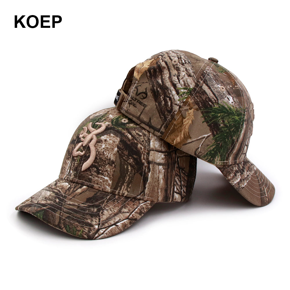 17b5cc873 Browning Camo Baseball Cap Fishing Caps Men Outdoor Hunting Camouflage  Jungle Hat Airsoft Tactical Hiking Casquette Hats