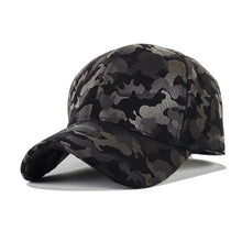 Load image into Gallery viewer, KPACNBBINCEMB Won't Let You Down Men and Women Baseball Cap Camouflage Hat Gorras Militares Hombre Adjustable Snapbacks Caps
