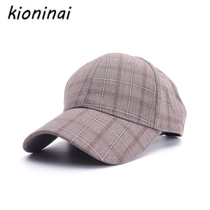 f8c97e700a83a2 Brand Baseball Cap Men Snapback Hat Caps Women Hats For Men Plaid Good  Quality Bone Casquette Male Fashion Gorras Cap
