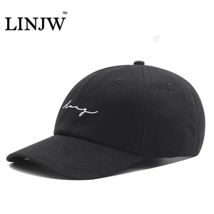 2018 Hot Black Baseball Cap Men Women Embroidery Solid Color Adjustable Snapback Hip Hop Caps Sports Outdoor Brand Dad Hat