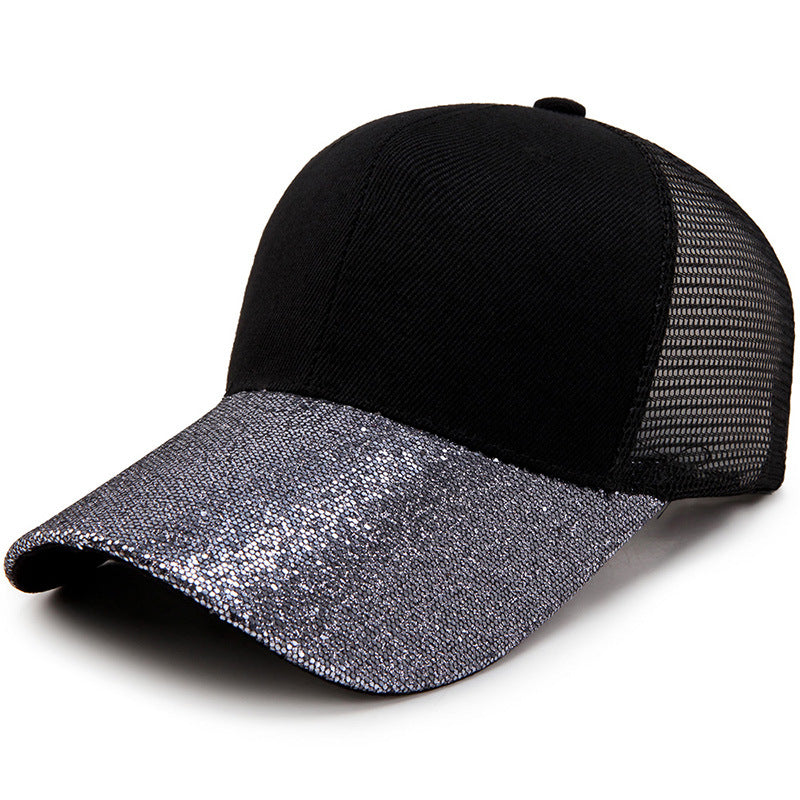 Bling Baseball Cap for Women Custom Design Glitter Baseball Cap Men ... f823221d41c8