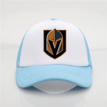 Load image into Gallery viewer, Late model Vegas Golden Knights pattern printing net cap baseball cap Men women Summer Cap New Youth Joker sun hat Beach Visor