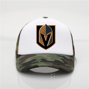 Late model Vegas Golden Knights pattern printing net cap baseball cap Men women Summer Cap New Youth Joker sun hat Beach Visor