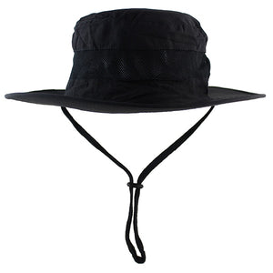 5459799c1e Lightweight UPF50+ Summer Sun Hat for Mens Womens Bucket Hat Breathable  Mesh Boonie Hat Outdoor Foldable