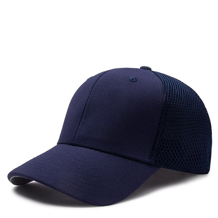 0ea3ccda ... Load image into Gallery viewer, Logo customized plain mesh trucker cap  full close blank cap ...