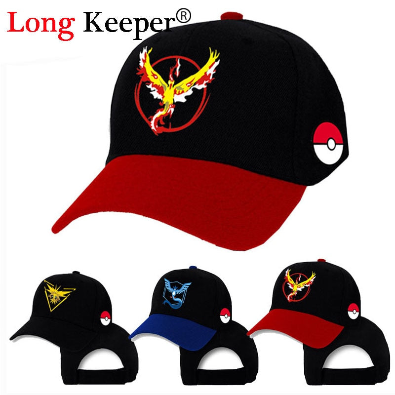 Pokemon Go Cap Hat T Valor T Mystic T Instinct Pokemon Cap Pokemon Go T Baseball Cap Hat