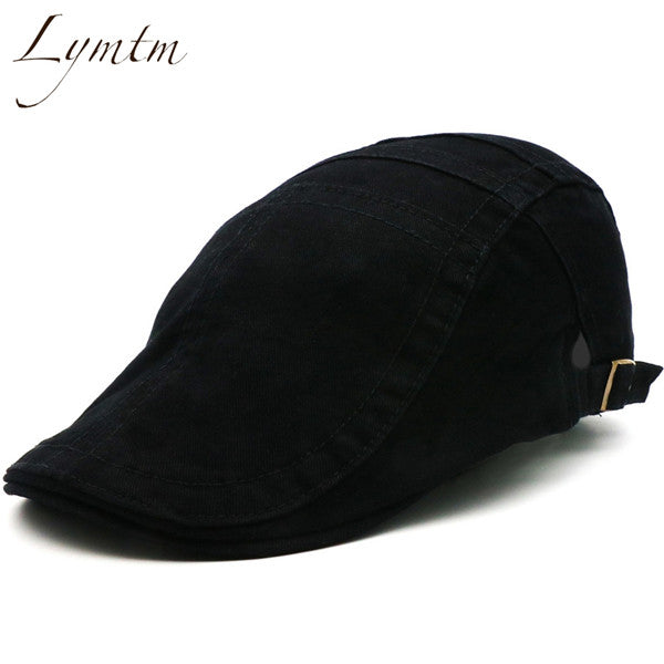 [Lymtm] 2018 British Style Army Green Cabbie Hats Caps Newsboy Cap Irish  Newsboys Flat Caps For Men And Women