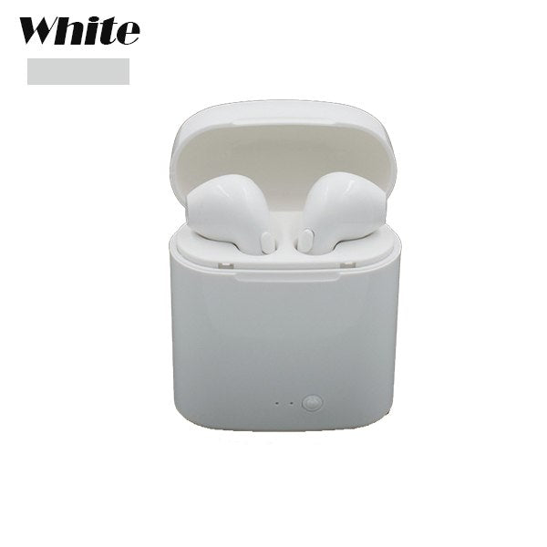 TWS Wireless Bluetooth Headphone Headset Double Twins Stereo Music Earbuds For Apple Earphone iPhone 6 i7  Samsung