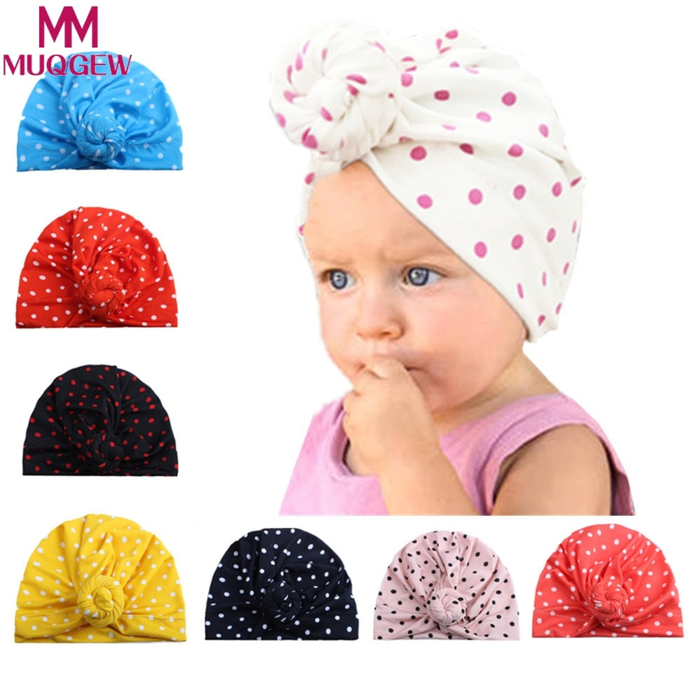 3dbdc870 New Baby Boy Sun Hat Cot Newborn Toddler Baby Girl Beanie Cute Turban Cot  Beanie Hat Winter Warm Cap