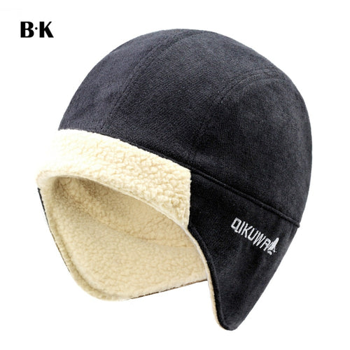 Men Bomber Hat Best Pilot Trooper Aviator Cap Faux Cashmere Hat Russian Ushanka Winter Earflap Fleece Trapper Snow Ski Cap