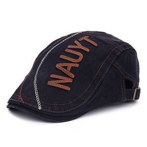 Men Classic Denim Duckbill Peaked Ivy Cap Golf Driving Flat Cabbie Beret  Hat Summer Winter Golf Newsboy Driving Cabbie Flat Cap c5a722ae5d4e