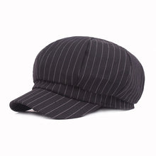 Load image into Gallery viewer, Men Vintage Cot Gatsby Newsboy Hat Cabbie Driver Bakerboy Cap Peaky Flat Hats HATCS0515