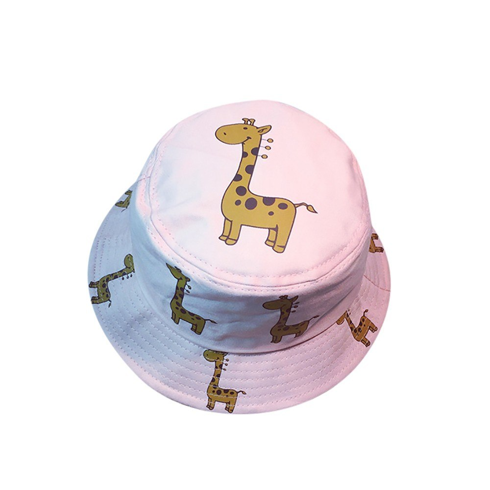 761841ba3bf43 Men Women Bucket Hat Travel Adjustable Cap harajuku Summer Animal ...