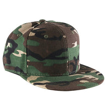 Load image into Gallery viewer, Men Women Ladies Baseball Cap Flat Cap Fashion Plain Blank Visor Hat Adjustable Hip Hop Cap Solid Color