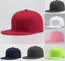 Load image into Gallery viewer, Men Women Sports Baseball Cap Blank Plain Cot Summer Hot Causal Adjustable Solid Snapback Golf ball Hip-Hop Hat