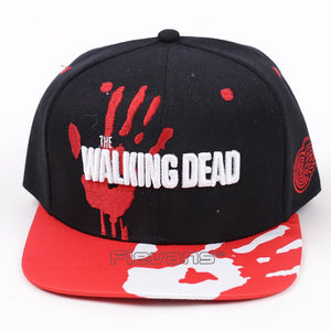 Men Women The Walking Dead Caps Cotton Baseball Hat Hip Hop Snapback Cap 2 Styles