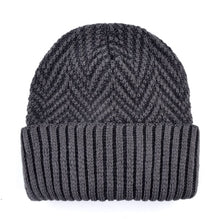 Load image into Gallery viewer, Men's Hat And Scarf Sets Winter Knitted Thick Bonnet Caps Men Add Velvet Beanies Hats Scarves Set Knitting Warm Skullies Gorro