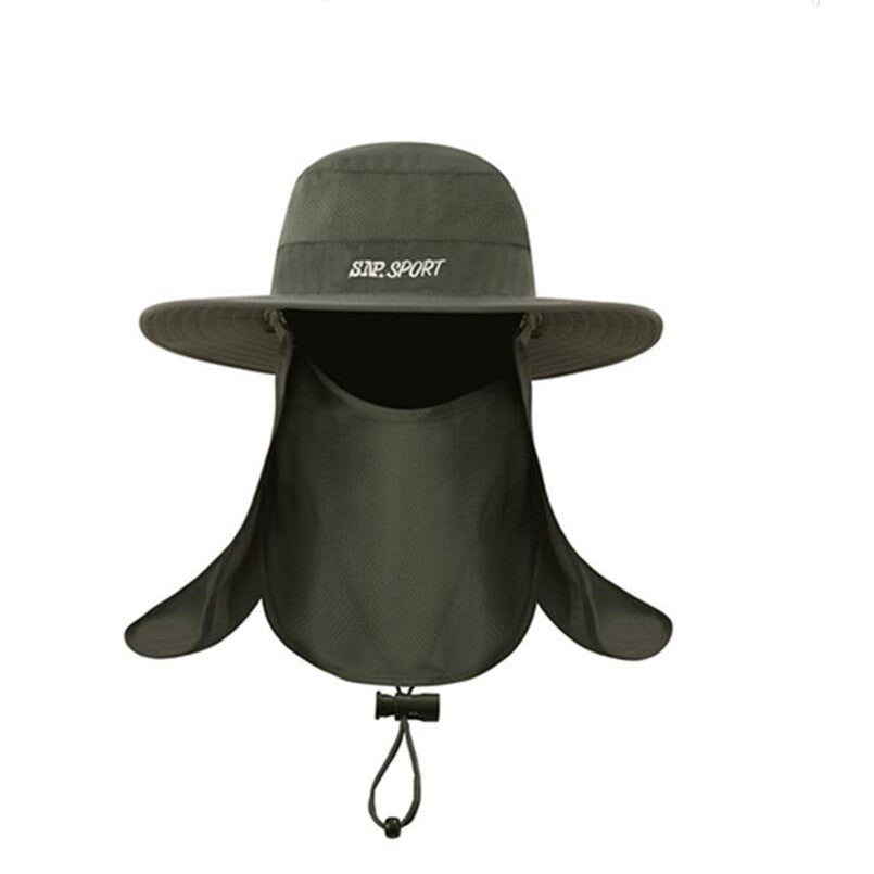Men's Summer Bucket Hats Fishing Wide Brim Hat UV Protection Cap Men Hiking Sombrero  Gorro Hats For Men