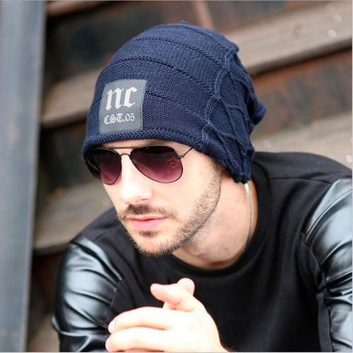Men's Winter Hat Bonnet Beanies Knitted Winter Hat Caps Skullies Female Winter Dad Hats For Men Beanie Warm Cap Wo Hat