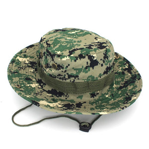 038b2e48012a1 Military Camouflage Bucket Hat Fishing Hunting Men Adult Sun Protection Mountain  Cap Climbing Outdoor Accessories Wide Brim hats