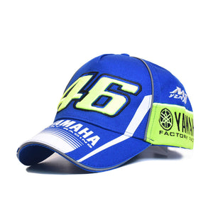Motocross 46  Racing Cap Baseball Cap Men Cot Casual Cap Snapback Hat For Women Casquette Gorras