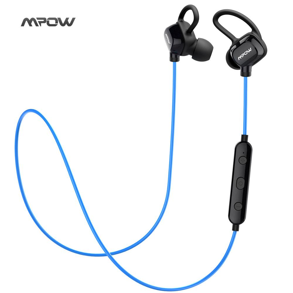 headphone IPX4-rated sweatproof stereo bluetooth headphones wireless sports earphones with MIC for iPhone Android Phone