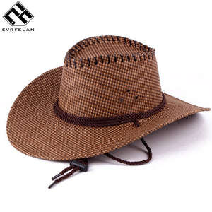 90985827316 New 2018 Solid Color Cowboy Hats Men And Women Travel Caps Jazz Hat Unisex Good  Quality