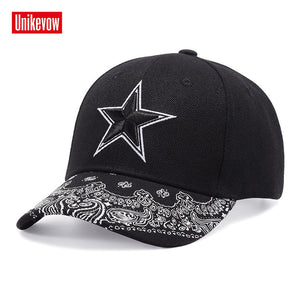New Arrival Star Snapback Hat Bone Snap Back gorras Men Hip Hop Cap Baseball Cap Fashion Skull Flat-brimmed Hat best quality