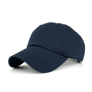 New Arrivals Cotton Solid color Baseball Cap Vintage Casual Hat Snapback Adjuatable Baseball Caps Brand New For Adult B336