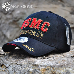 New Arrive US Marine Tactical Baseball Cap Men USMC Navy Snapback Hat SEMPER FI Bone Adjustable Outdoor Cot Army Baseball Hat